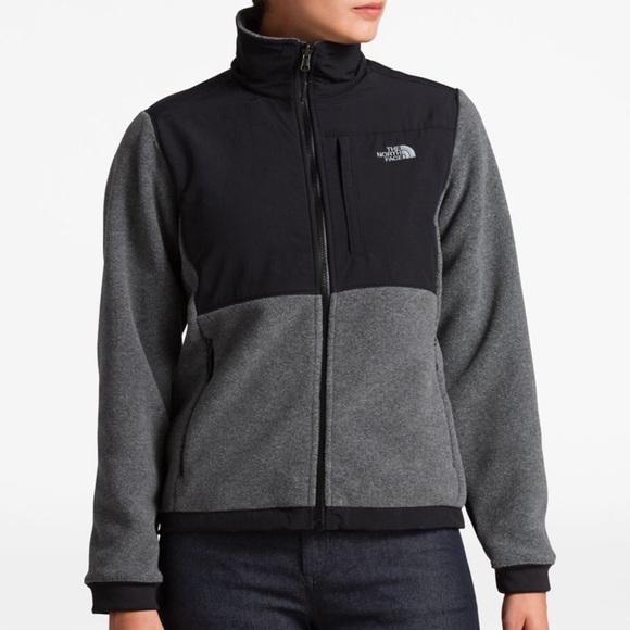 dd255e8e9 Women's The North Face Denali Grey Fleece Jacket